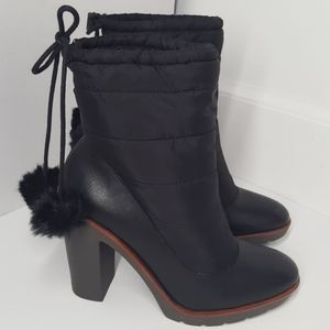 Kate Spade Ginnie leather quilted bootie 7.5 M